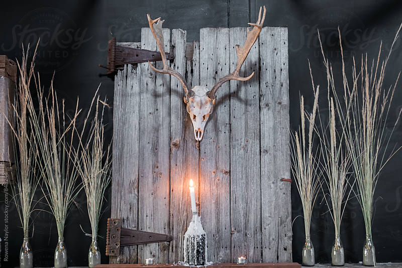 Rustic interiror design by Rowena Naylor for Stocksy United
