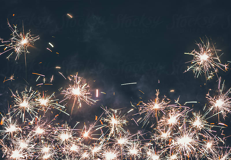 Sparkler Background by Lumina for Stocksy United
