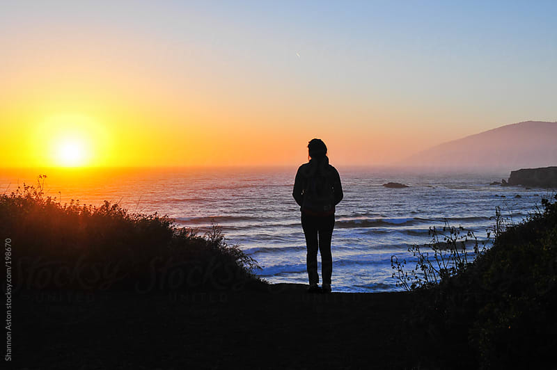 Big Sur Sunset by Shannon Aston for Stocksy United