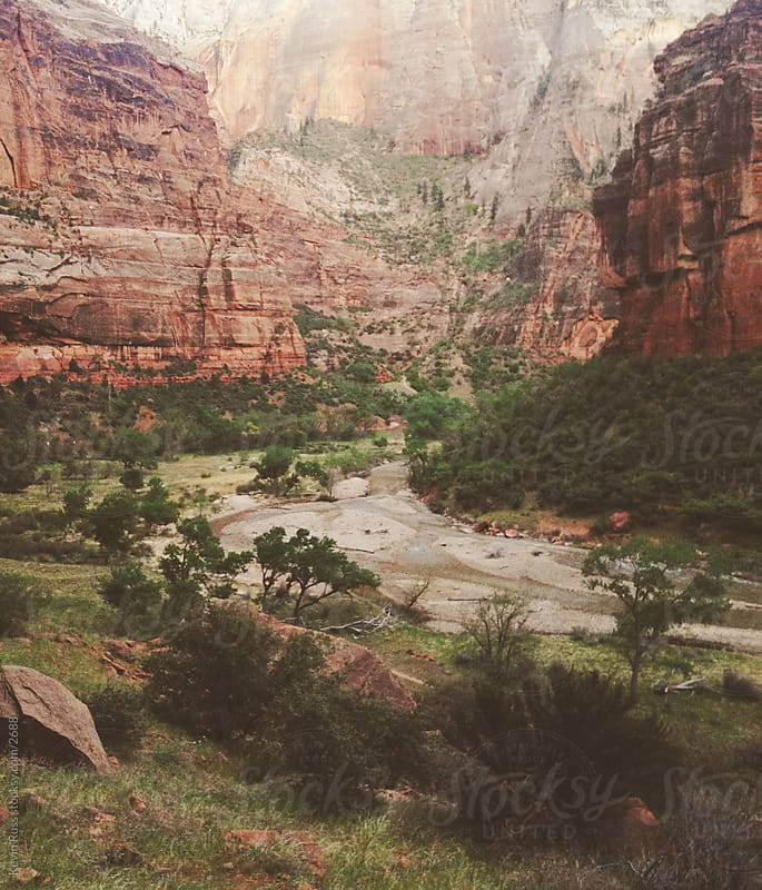 Zion Canyon by Kevin Russ for Stocksy United