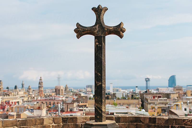 Panoramic view to Barcelona by Zocky for Stocksy United
