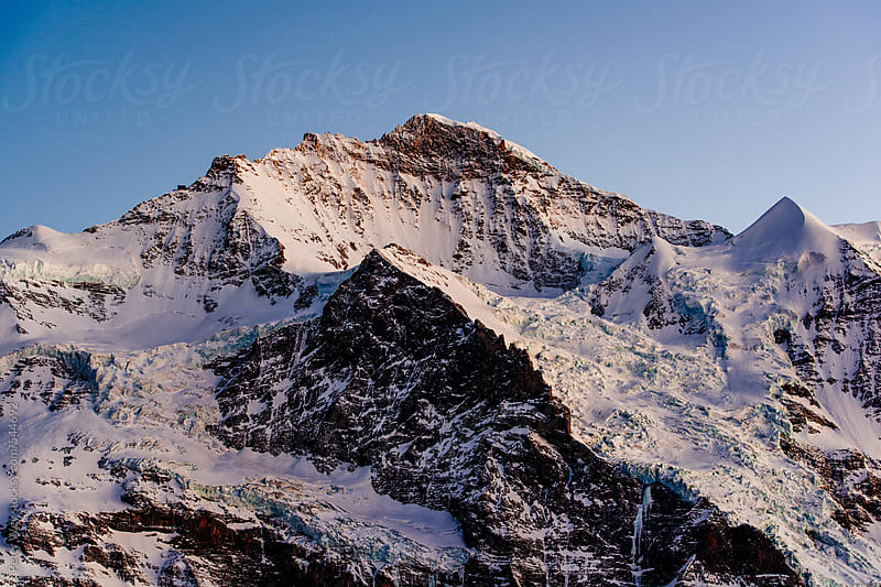 Jungfrau at dusk by Peter Wey for Stocksy United