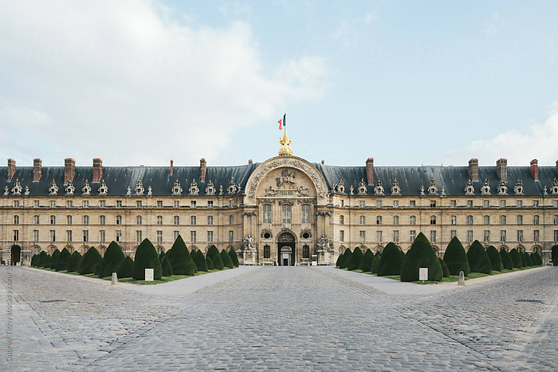North front of Les Invalides by Gabriel Tichy for Stocksy United