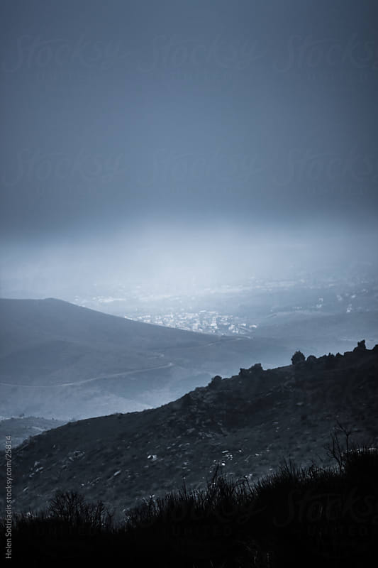 Foggy view by Helen Sotiriadis for Stocksy United