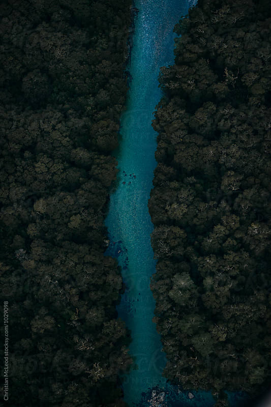 river runs through it by Christian McLeod for Stocksy United