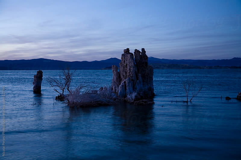 Mono Lake by Nicolai Perjesi Photography for Stocksy United