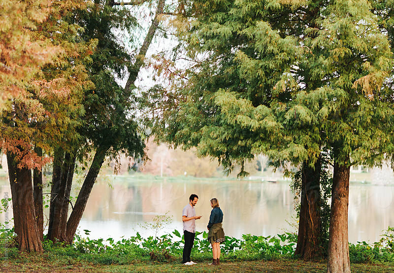 Beautiful Proposal in Louisiana by B. Harvey for Stocksy United