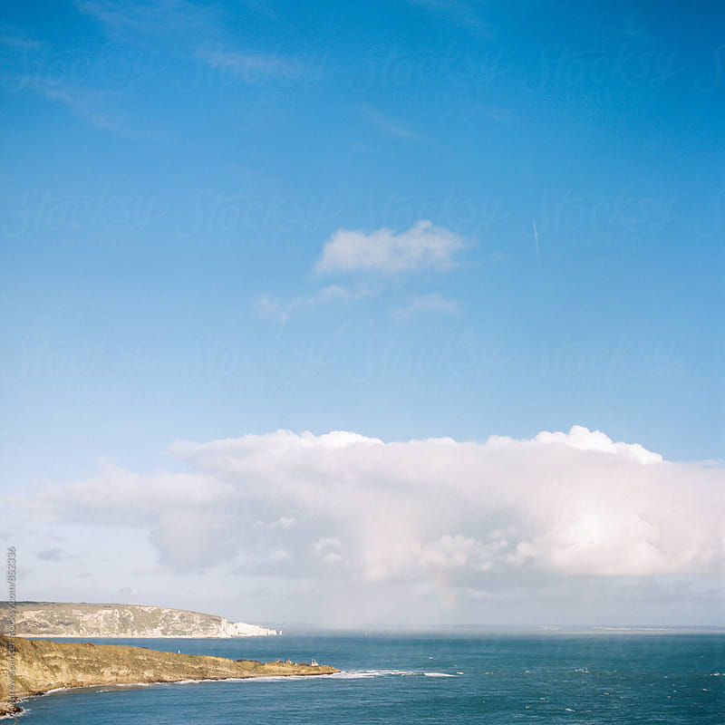 Old Harry Rocks by Andrew Spencer for Stocksy United