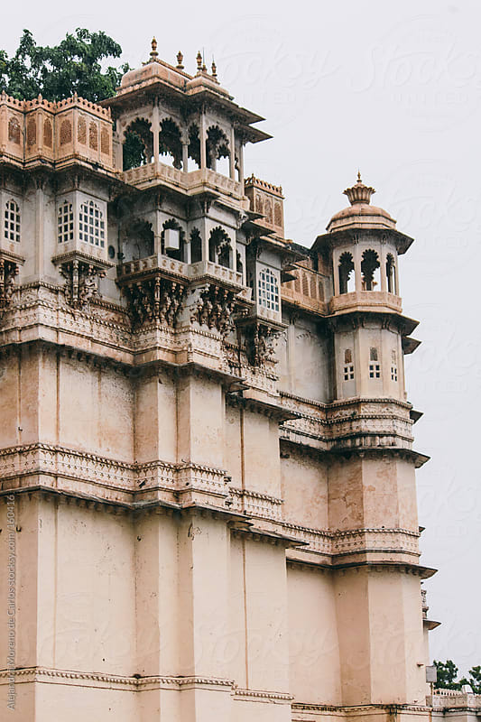 Palace in Udaipur, India by Alejandro Moreno de Carlos for Stocksy United