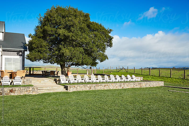 Luxury resort in Napa Valley, CA  by Trinette Reed for Stocksy United