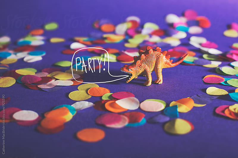 PARTY ANIMAL! by Catherine MacBride for Stocksy United
