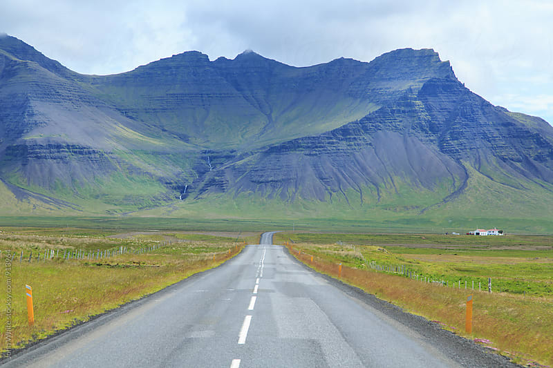 Ring road. Route 1. Iceland. by John White for Stocksy United
