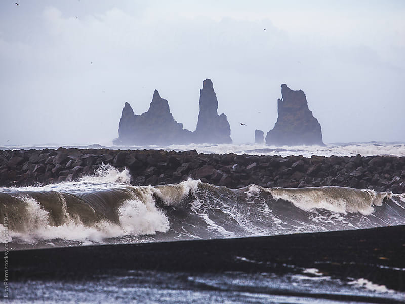 Vik beach, Iceland by Luca Pierro for Stocksy United