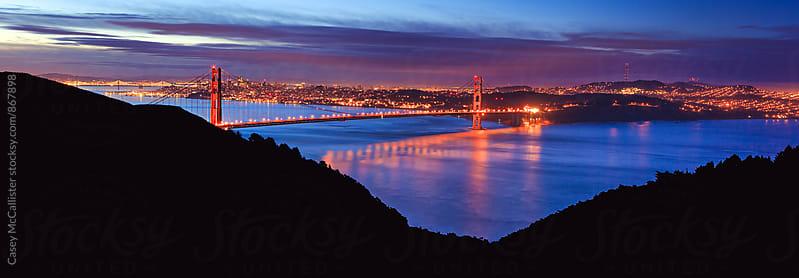 Golden Gate Morning by Casey McCallister for Stocksy United