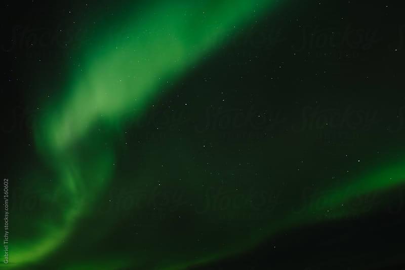 Northern Lights, Iceland by Gabriel Tichy for Stocksy United