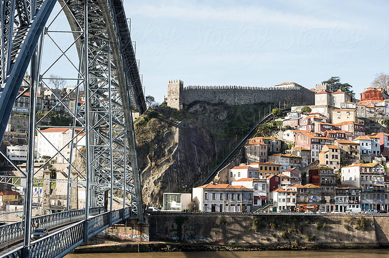 Oporto & Dom Luis I Bridge by Bisual Studio for Stocksy United