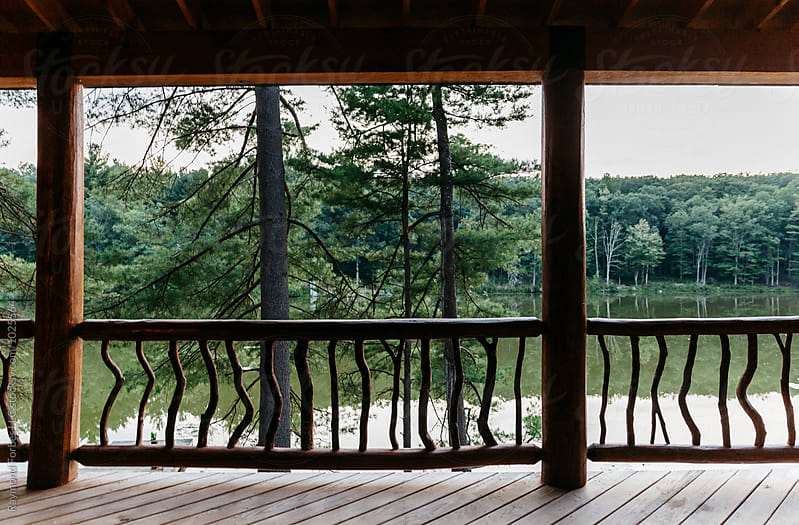 Cabin in The Poconos by Raymond Forbes LLC for Stocksy United