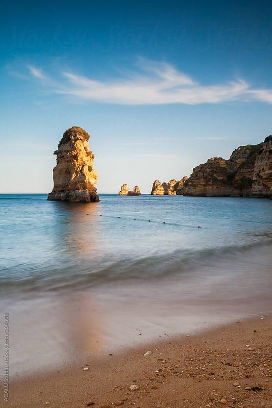 Dona Ana beach, Portugal by ACALU Studio for Stocksy United