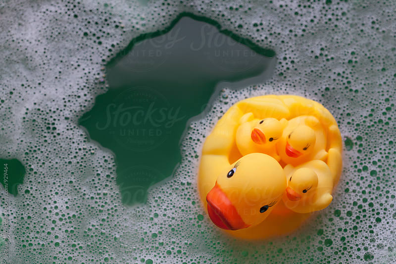 Rubber ducks by Jelena Jojic Tomic for Stocksy United