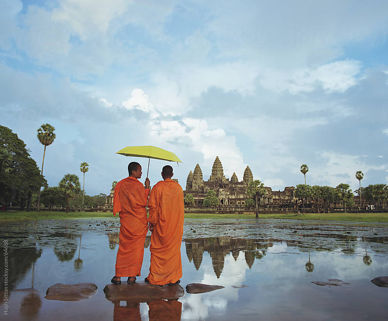 Angkor Wat by Hugh Sitton for Stocksy United