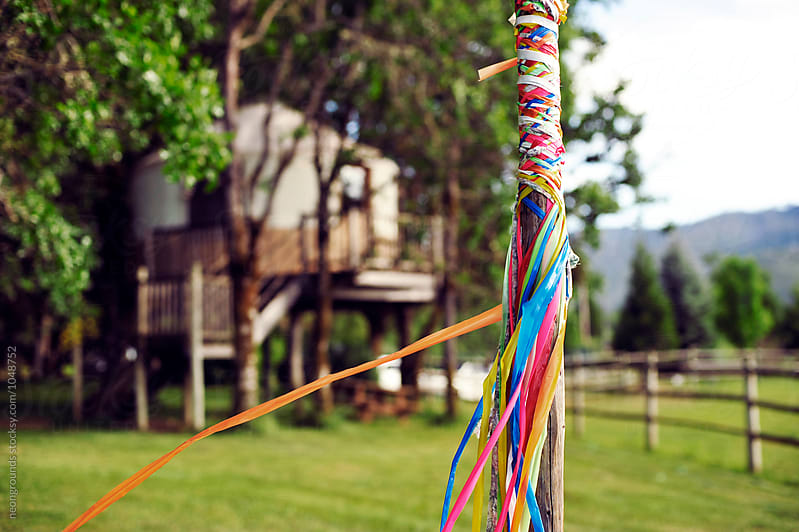 May Pole by neongrounds for Stocksy United