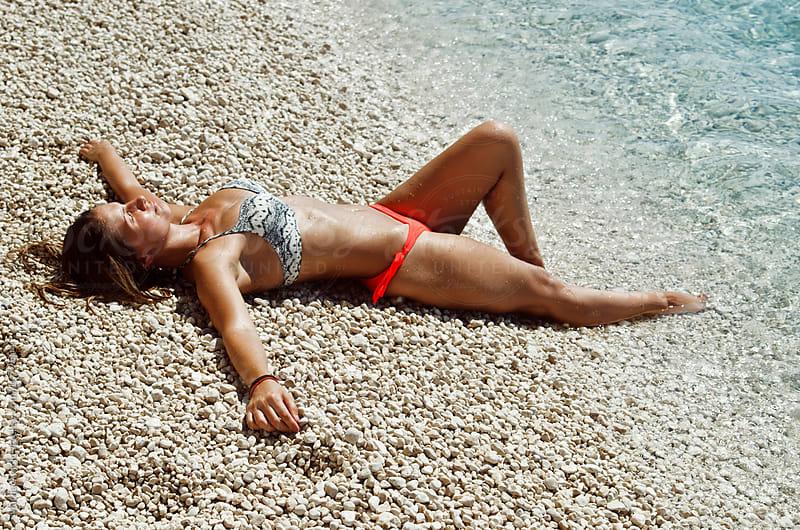 On the beach by Marija Anicic for Stocksy United