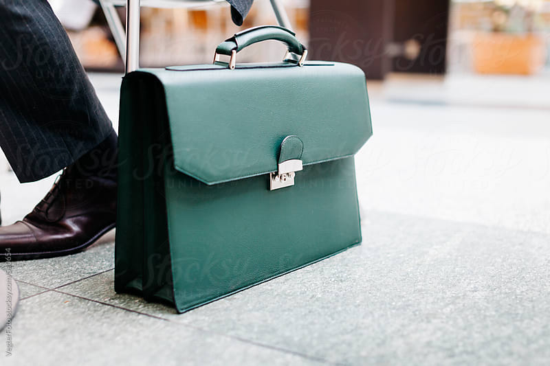 Businessman's  Briefcase by VegterFoto for Stocksy United