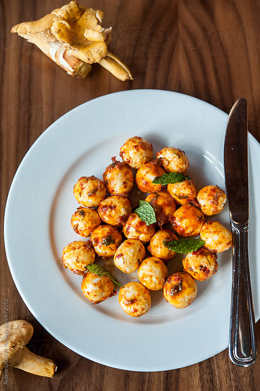 Golden Appetizer by Aubrie LeGault for Stocksy United