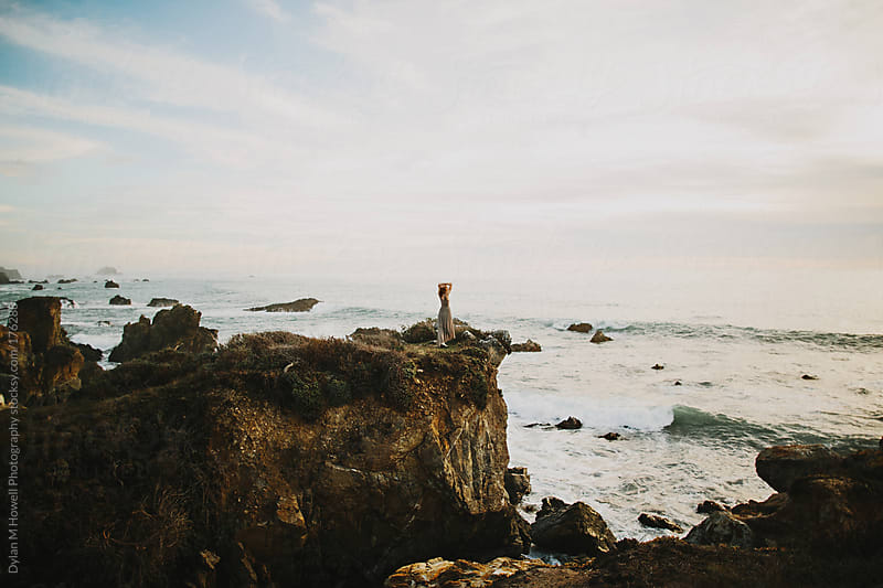 Sea cliff beeze by Dylan M Howell Photography for Stocksy United