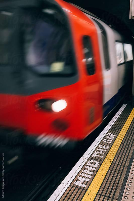 London Tube by Mauro Grigollo for Stocksy United