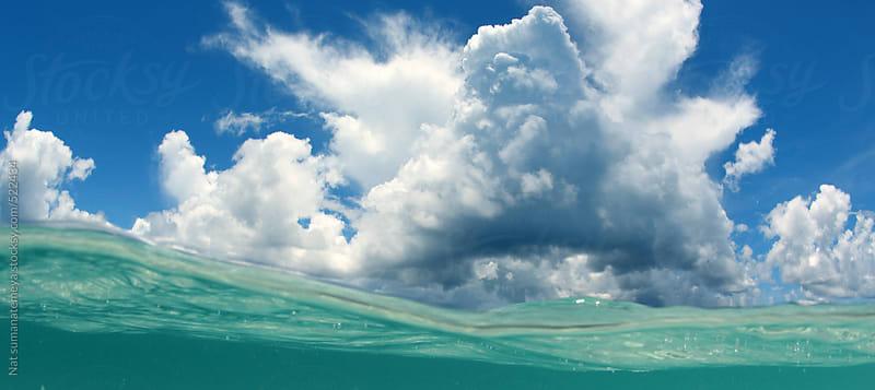 sea and sky  by Nat sumanatemeya for Stocksy United