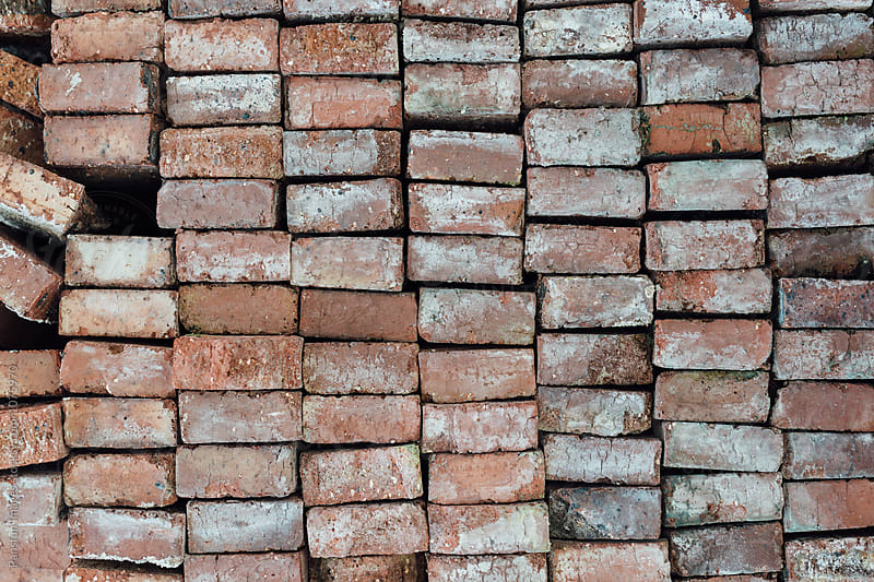red brick by Pansfun Images for Stocksy United