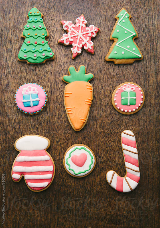 Christmas cookies by Maa Hoo for Stocksy United