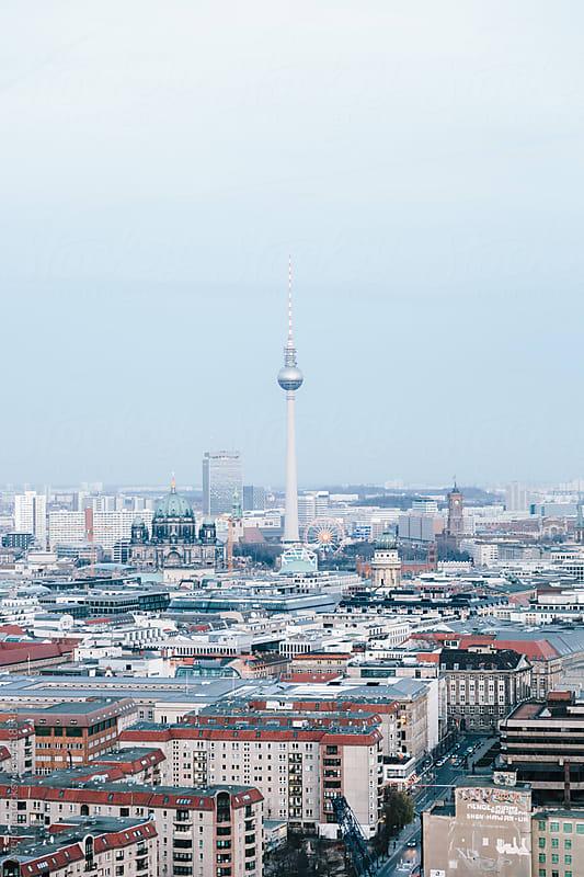 Berlin Skyline by Agencia for Stocksy United