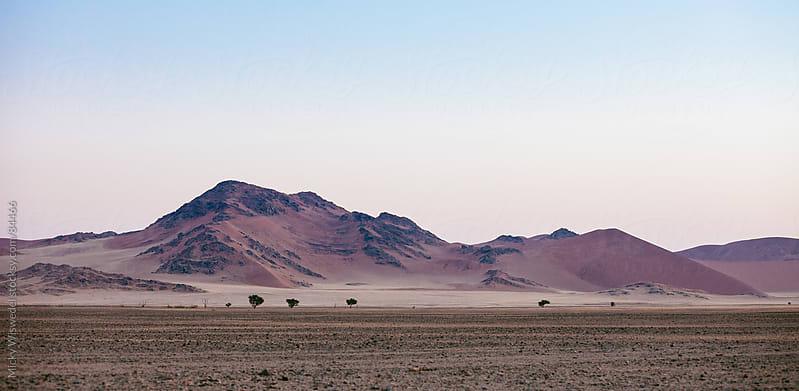 Sossusvlei desert landscape, Namibia by Micky Wiswedel for Stocksy United