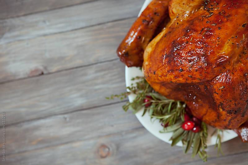 Thanksgiving: Focus On Glistening Roasted Turkey by Sean Locke for Stocksy United