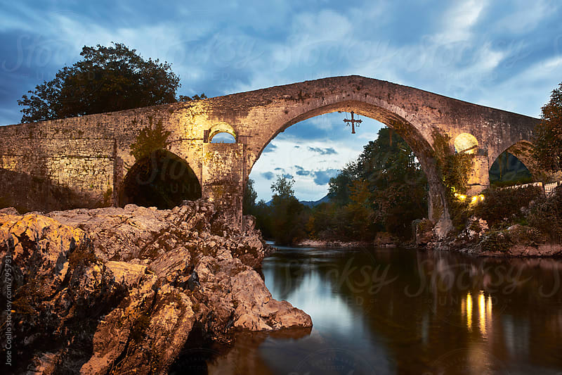 Roman Bridge by Jose Coello for Stocksy United