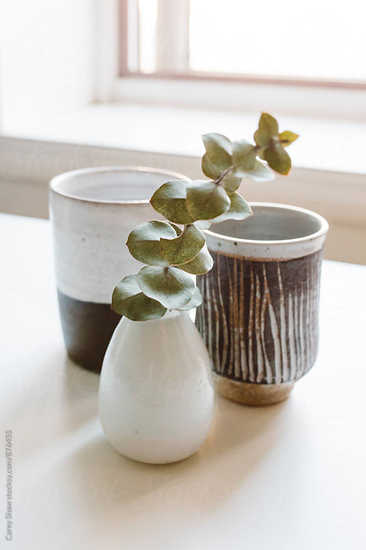 Modern pottery decor by Carey Shaw for Stocksy United
