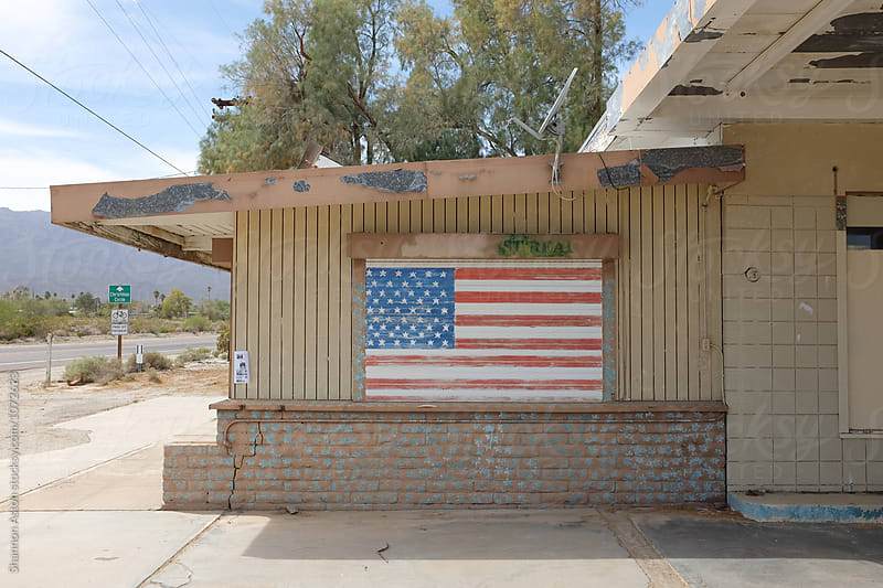 Old gas station, CA by Shannon Aston for Stocksy United