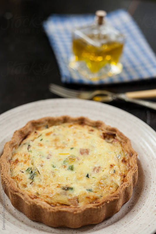 Homemade quiche by Darren Muir for Stocksy United