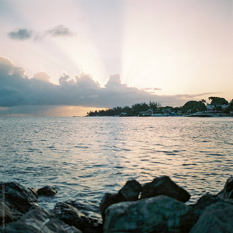 Sunset in Barbados by Sam Burton for Stocksy United