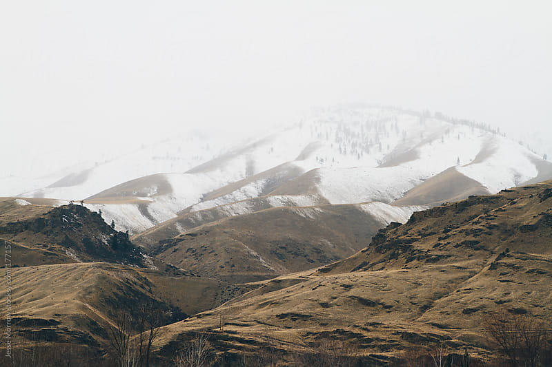 Mountain landscape of Easter Washington by Jesse Morrow for Stocksy United