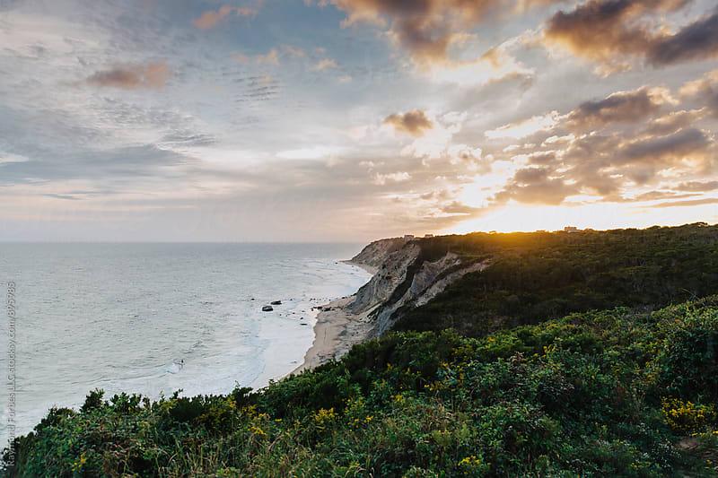 South Coast of Block Island, Rhode Island by Raymond Forbes LLC for Stocksy United