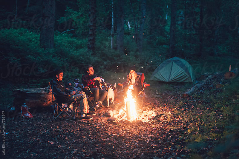 Camping in Hope by Jake Elko for Stocksy United