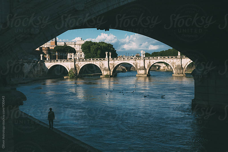 Castel Sant'Angelo by Oliver Astrologo for Stocksy United