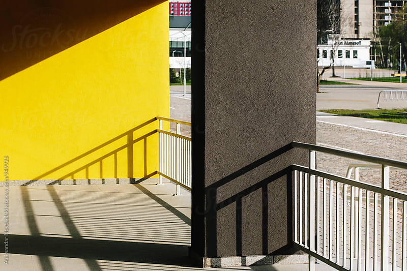 Urban architecture on a sunny day by Aleksandar Novoselski for Stocksy United