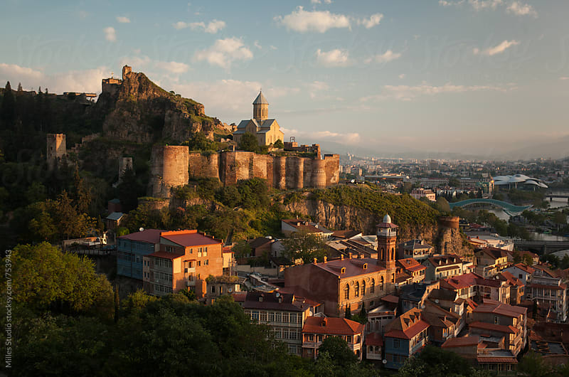 Old Tbilisi Town by Milles Studio for Stocksy United