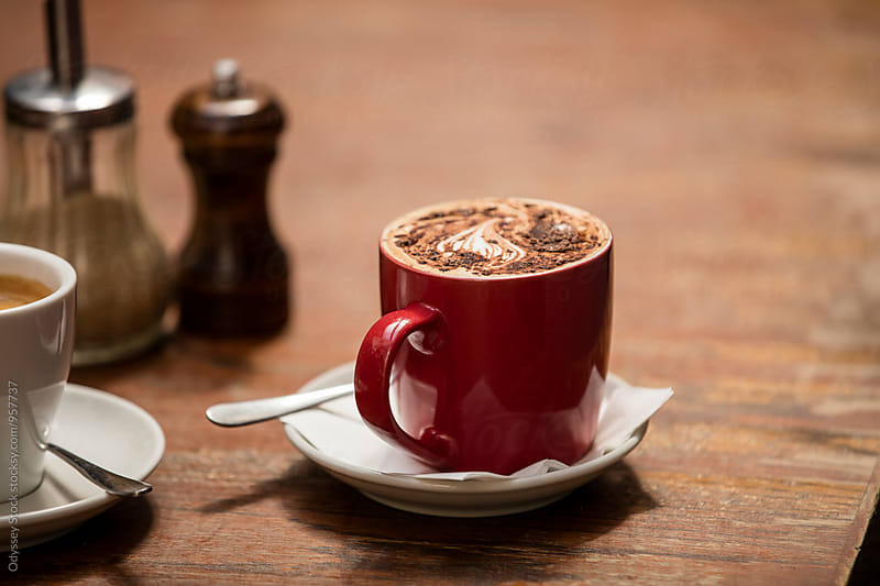 European Coffee Latte by Odyssey Stock for Stocksy United