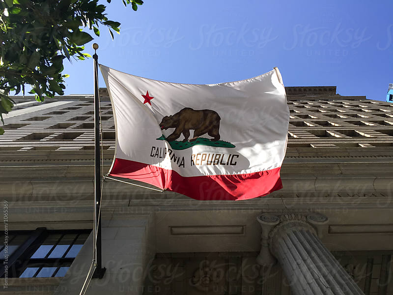 California Flag by Tommaso Tuzj for Stocksy United