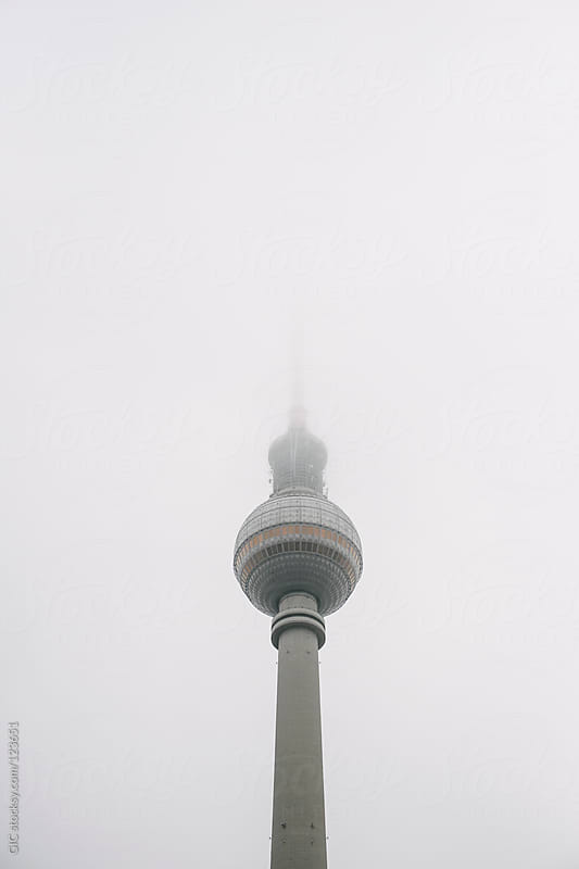 Berlin TV Tower in the Fog by GIC for Stocksy United